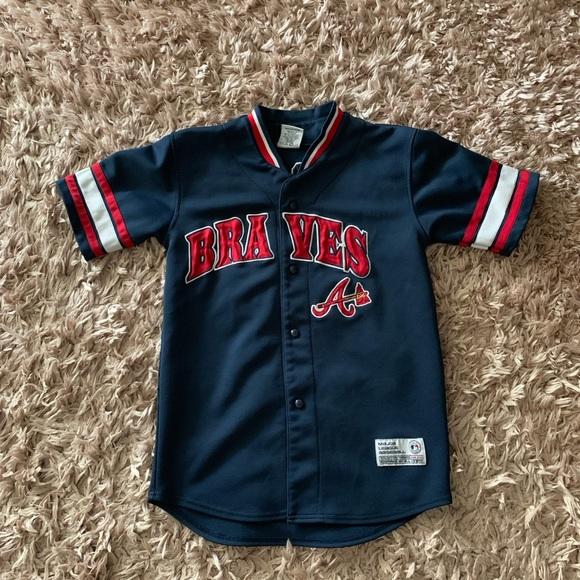 c0eafb288 MLB Other   Andruw Jones Authentic Atlanta Braves Jersey   Poshmark